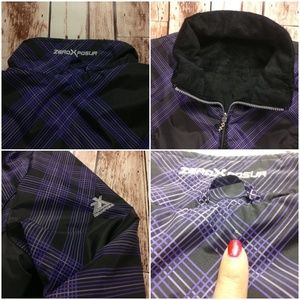 ZeroXposur Jackets & Coats - ZeroXposur Reversible Jacket Purple Plaid Design!